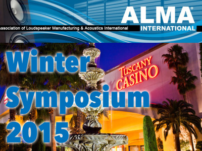 Association of Loudspeaker Manufacturing & Acoustics (ALMA) International Winter Symposium 2015 - All the Updates