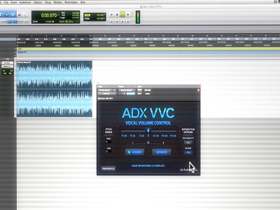 Audionamix Launches ADX Vocal Volume Control (VVC) Plug-in for Pro Tools
