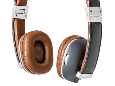 Polk Audio Hinge Wireless Headphones Featuring Active Bluetooth with AptX Technology
