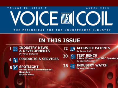 Voice Coil March 2015 Available Online and Download!