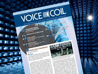Voice Coil May 2015 is Now Available Online
