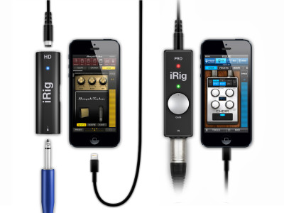 IK Multimedia announces 96kHz firmware update for iRig PRO and iRig HD Interfaces