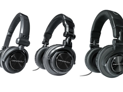 Denon DJ Upgrades HP Series Headphones With Three New Models