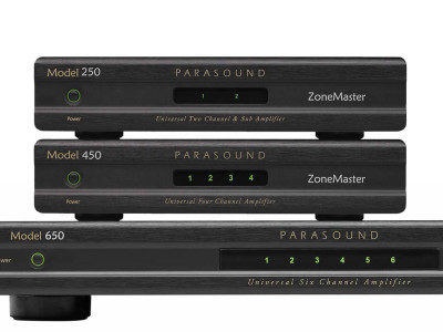 Parasound Debuts Expanded ZoneMaster Custom Installation Amplifier Line at CEDIA