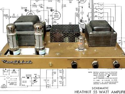 Heathkit W-7 Rebuild