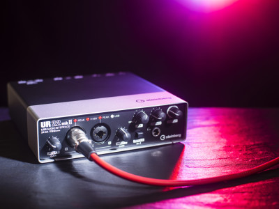 Steinberg Releases UR22mkII 24-bit/192 kHz Portable Audio Interface with iPad Support