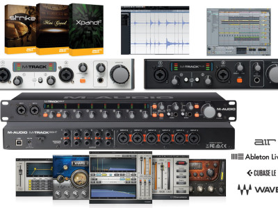 M-Audio Announces Songwriter Suite Recording and Software Bundles