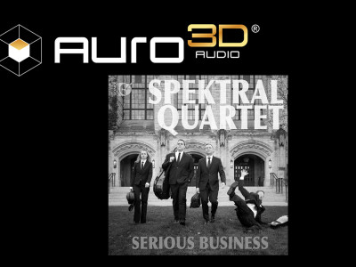 """Spektral Quartet's """"Serious Business"""" Recorded in Auro-3D"""