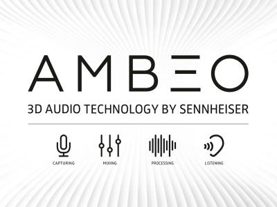Sennheiser AMBEO 3D Audio Technology Showcased at CES 2016