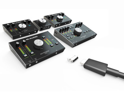 M-Audio Raises Home Studio Audio Interface Standards With Latest M-Track USB-C Series
