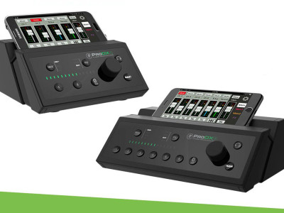 Mackie ProDX Series Ultra-Compact Digital Mixers with Bluetooth and Complete Wireless Control