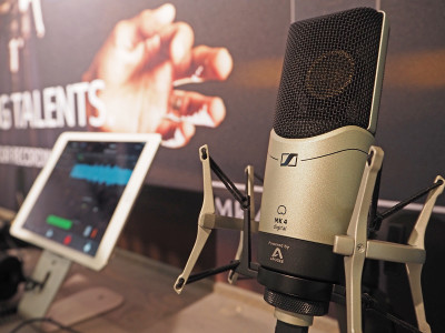 Sennheiser and Apogee Partner to Offer MK 4 Digital for USB and iOS