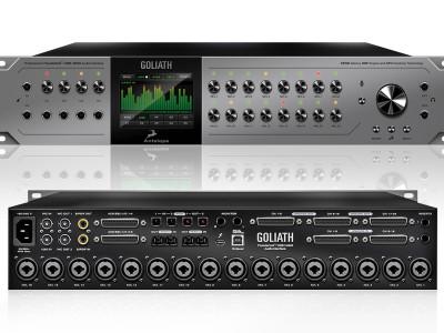 Antelope Audio Introduces Goliath Thunderbolt/USB Audio Interface