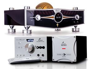 Antelope Audio Displays Zodiac Platinum DSD DAC and Rubicon Preamplifier