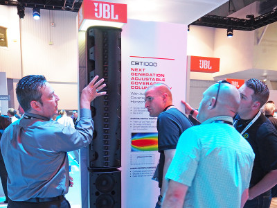 JBL Launches New Flagship CBT Series Column Loudspeaker and Expands Intellivox HP Series Column Loudspeakers at InfoComm 2016