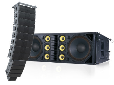 VUE Audiotechnik Completes al-Class Series With Full Size Beryllium Infused Line Array System