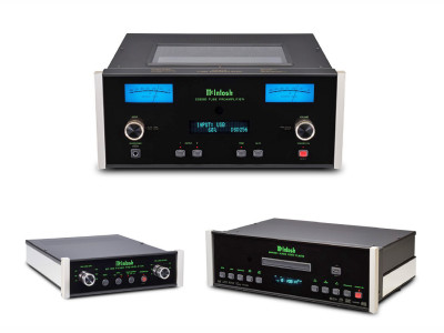 McIntosh Announces New Blu-Ray Player, Turntable Preamplifier and High-Res Digital Preamp
