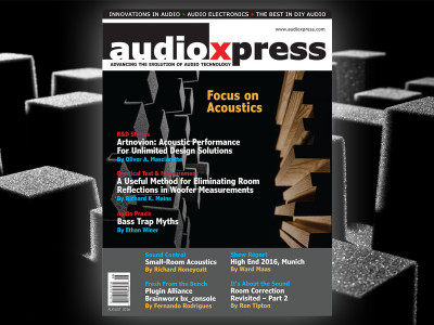 audioXpress Acoustics in Focus August 2016 Edition Now Available!