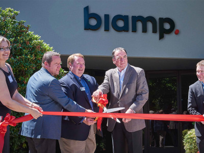 Biamp Systems Opens New Manufacturing Facility and Expands Engineering Team