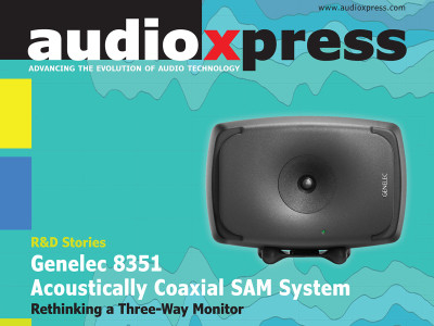 R&D Stories: Genelec 8351 Acoustically Coaxial SAM System