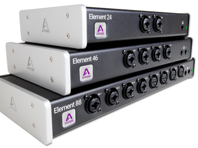 Apogee Introduces Element Series Thunderbolt Audio Interfaces