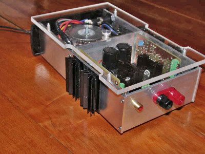The 5002 Project: A DIY Mono Amp Block