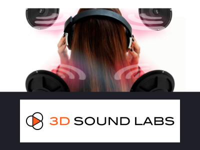 Microsoft Research Selects 3D Sound Labs 3D Audio Head Tracking Technology for Use in 3D Positional Audio Research