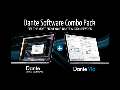 Audinate Announces Dante Via and Dante Virtual Soundcard Bundle