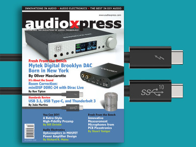 Important Technology Updates and Great Product Reviews Featured in audioXpress December 2016