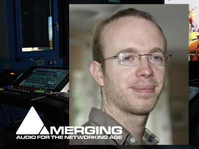 Audio over IP Expert Nicolas Sturmel Joins Merging Technologies as Senior Technologist