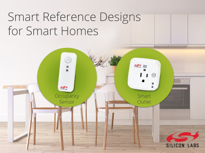 Smart Home Reference Designs from Silicon Labs Accelerate Development of IoT Connected Devices