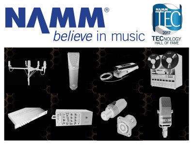 The NAMM Foundation Announces Eight 2017 TECnology Hall of Fame Inductees
