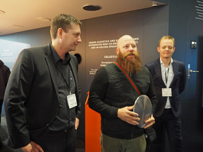 Origin Acoustics and Bang & Olufsen Reaffirmed Partnership on In-Wall/In-Ceiling Speakers at ISE 2017