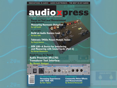 audioXpress March 2017, Focus on Test and Measurement, Now Available!