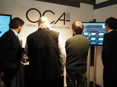 OCA Alliance Demonstrations at ISE 2017 Showcase Growing Awareness of Media Over IP Control and Monitoring Standard Capabilities