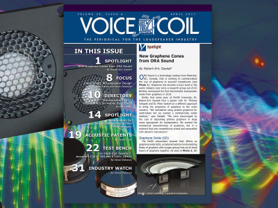 Learn More about Loudspeaker Innovation in Voice Coil April 2017