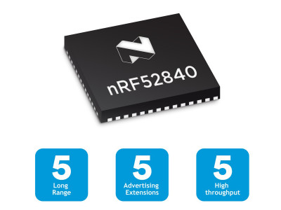 Nordic Semiconductor Shows Development Kit and Other Solutions for Bluetooth 5 Implementation