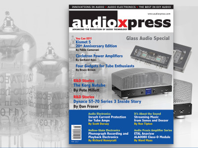 Get the Positive Energy of Tubes with audioXpress May 2017, Now Available!