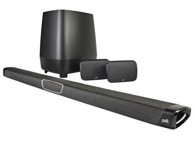Polk Audio MagniFi MAX SR Soundbar Voice-Controlled Wireless Smart Surround Speaker