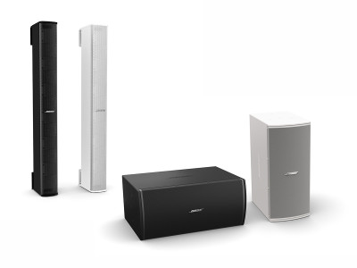 Bose Professional Introduces Panaray MSA12X Modular Steerable Array Loudspeaker and New MB210 Compact Subwoofer