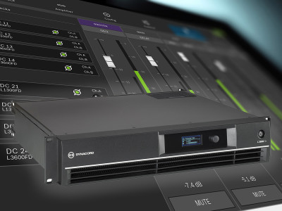 Dynacord Launches New Power Amplifiers for Live Applications and Fixed Installations