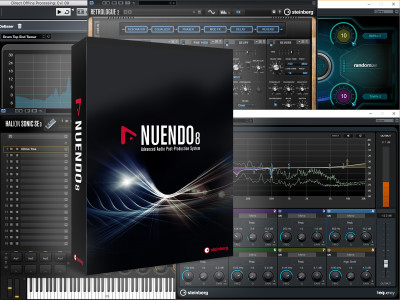 Steinberg Nuendo 8 is Now Available