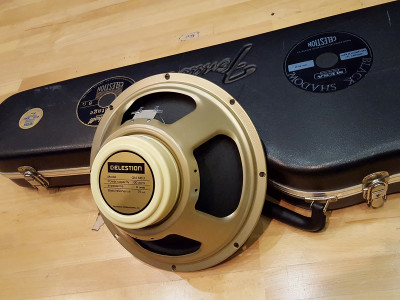 Classic Celestion Neo Creamback Guitar Speaker Tones Now Available as Downloadable Impulse Responses