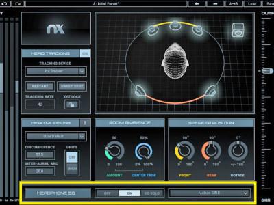 Waves Announces Headphone EQ Calibration for Nx Virtual Mix Room