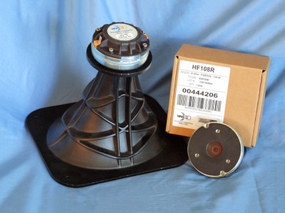 Test Bench: Faital Pro HF108R Compression Driver