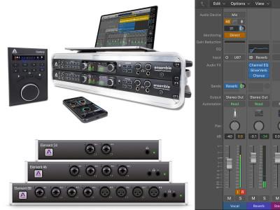 Apogee Eliminates Latency on Logic Pro X when using Ensemble and Element Audio Interfaces