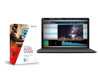 MAGIX Releases Sound Forge Audio Studio 12