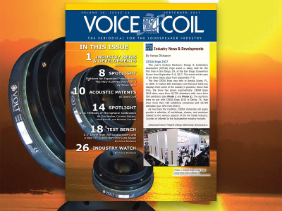 Download Now Your Voice Coil September 2017 Issue!