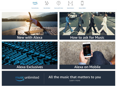 Amazon Music Adds Alexa Interaction to its MP3 Music Streaming Service