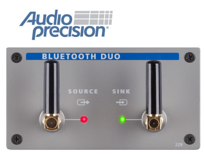 Audio Precision Introduces Next-Generation APx Bluetooth Duo Module